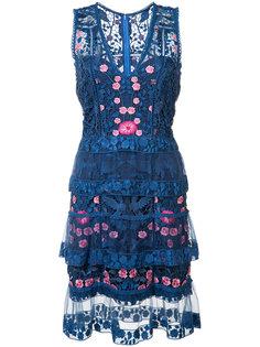 floral dress Marchesa Notte