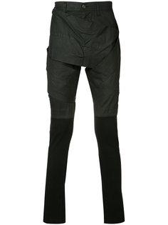 брюки с элементом фартука Julius
