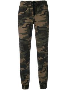 спортивные брюки с камуфляжным принтом Vis A Vis