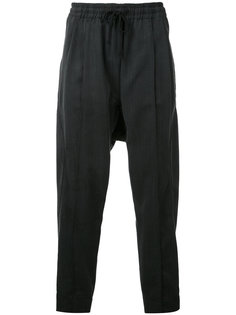 dropped crotch track pants Abasi Rosborough