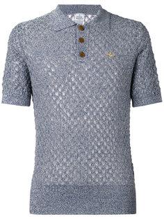 open knit polo shirt Vivienne Westwood Man