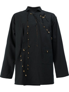 куртка с декоративными подвесками Yohji Yamamoto