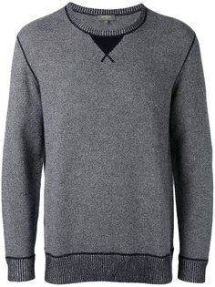 contrast sweatshirt  N.Peal