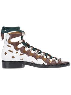 hi-top lace-up sandals Toga Pulla