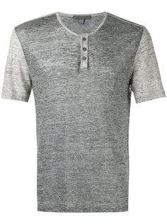 button-up T-shirt John Varvatos