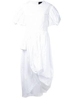 платье с пышными рукавами Simone Rocha