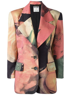 floral print jacket Moschino Vintage