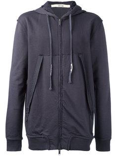 oversized pockets zipped hoodie Damir Doma