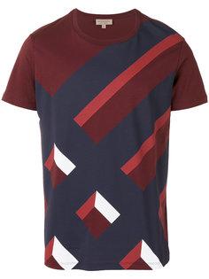 футболка с сплошным узором Burberry