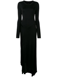 deconstructed long sleeved dress Alexander Wang