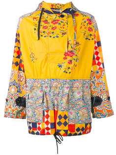 print panel hooded jacket  Herno