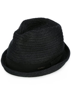 соломенная шляпа-федора Dsquared2