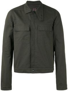 куртка-рубашка с передними карманами Rick Owens DRKSHDW