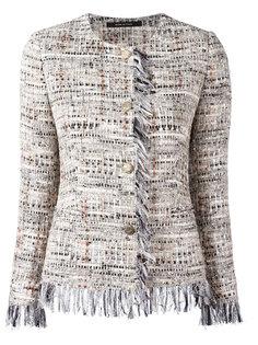 твидовый пиджак на пуговицах Tagliatore