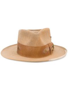 шляпа с потертой отделкой Nick Fouquet