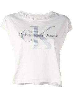 футболка с короткими рукавами и логотипом  Calvin Klein Jeans