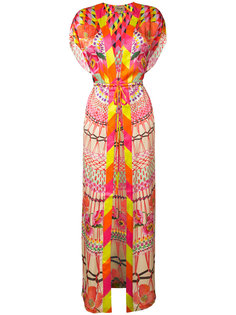 Misty print kaftan Temperley London