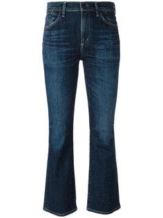 расклешенные укороченные джинсы Citizens Of Humanity
