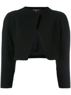 укороченный пиджак без застежки  Paule Ka
