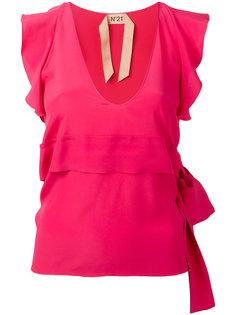 блузка с запахом Nº21
