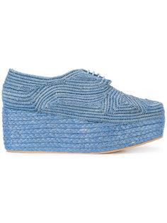 туфли со шнуровкой Pinton  Robert Clergerie