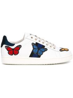 кеды с вышивкой бабочки Moa Master Of Arts