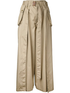 high waist wide leg trousers Cityshop