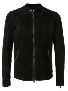 байкерская куртка с круглым вырезом Giorgio Brato