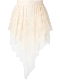юбка с многослойным подолом Philosophy Di Lorenzo Serafini