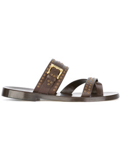 slider sandals  Louis Leeman
