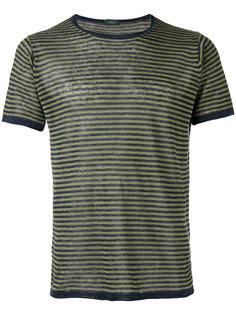 striped knit T-shirt  Zanone