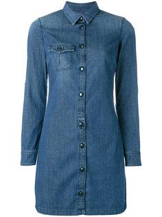 джинсовое платье-рубашка  Jacob Cohen