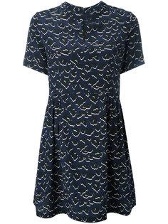 платье с леопардовым принтом  Markus Lupfer