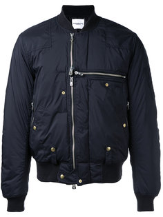 zipped biker jacket  The Soloist