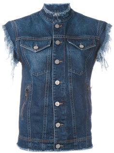 джинсовая куртка без рукавов  Vivienne Westwood Anglomania