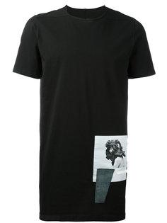 футболка с фото-принтом Rick Owens DRKSHDW