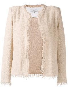 frayed tweed jacket Iro