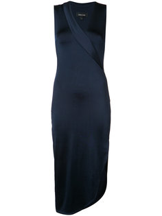 wrap front midi dress Cushnie Et Ochs
