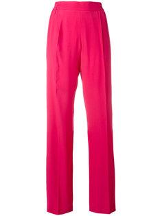 брюки прямого кроя с полосками по бокам Nº21