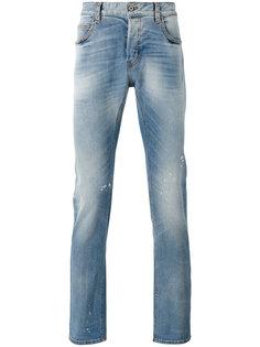 джинсы с вытертыми деталями Just Cavalli