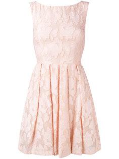 кружевное расклешенное платье  Blugirl