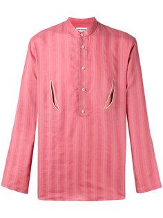 floral back shirt Umit Benan