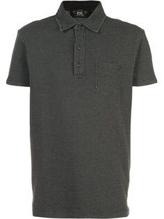 dots print polo shirt  Rrl