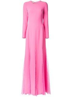 платье с кружевной вставкой  Michael Kors