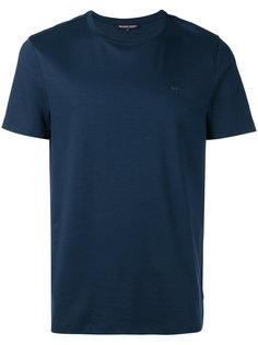 однотонная футболка Michael Kors
