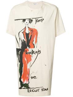 Henley T-shirt dress Yohji Yamamoto
