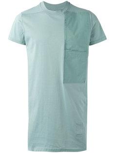 футболка с заплаткой Rick Owens DRKSHDW