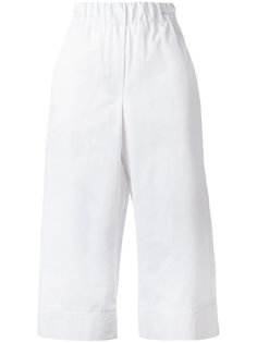 high-waisted cropped trousers Odeeh