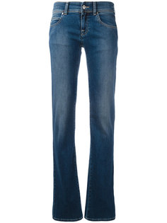 мягкие джинсы клеш Armani Jeans