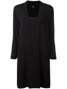 square neck dress Eleventy
